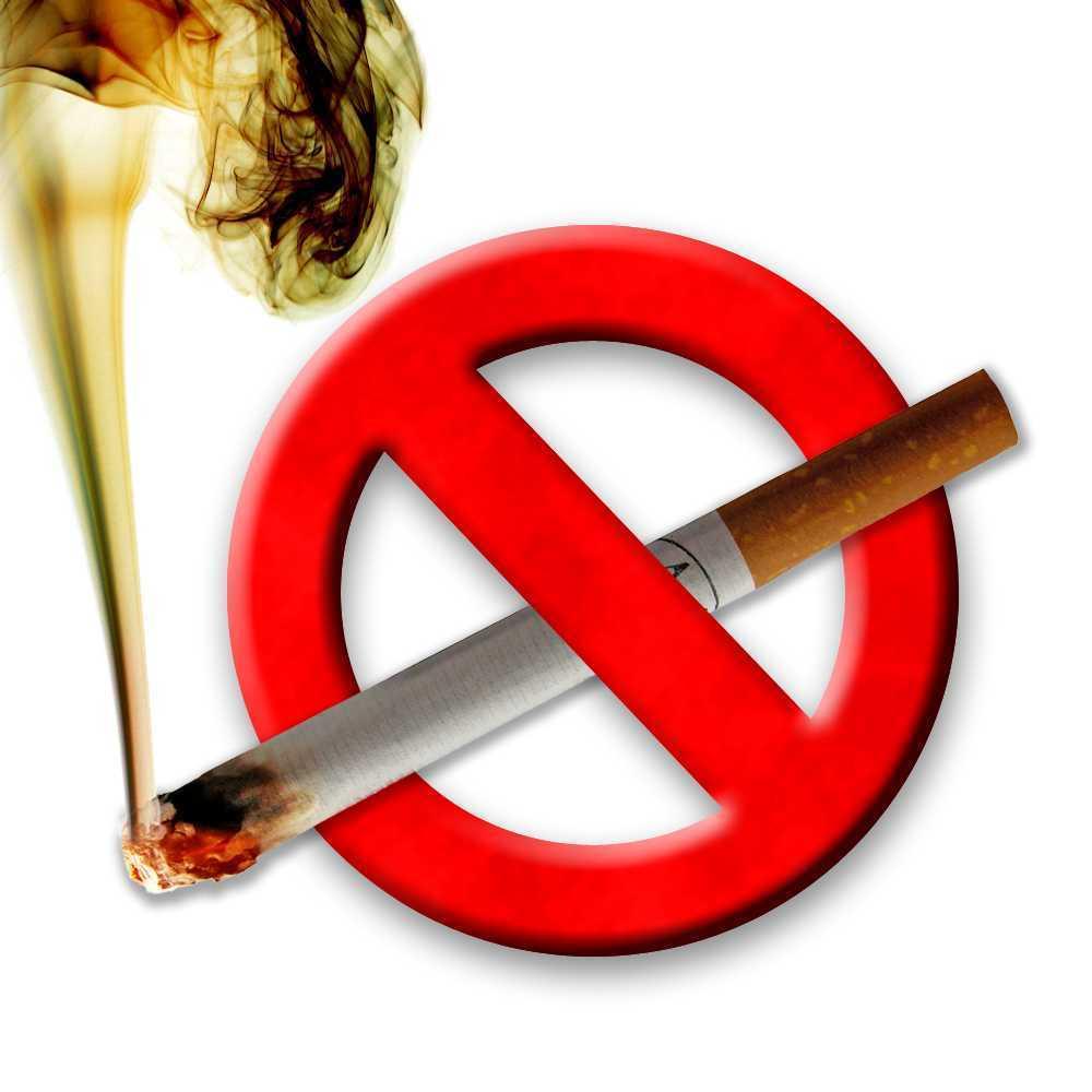 no smoke signage