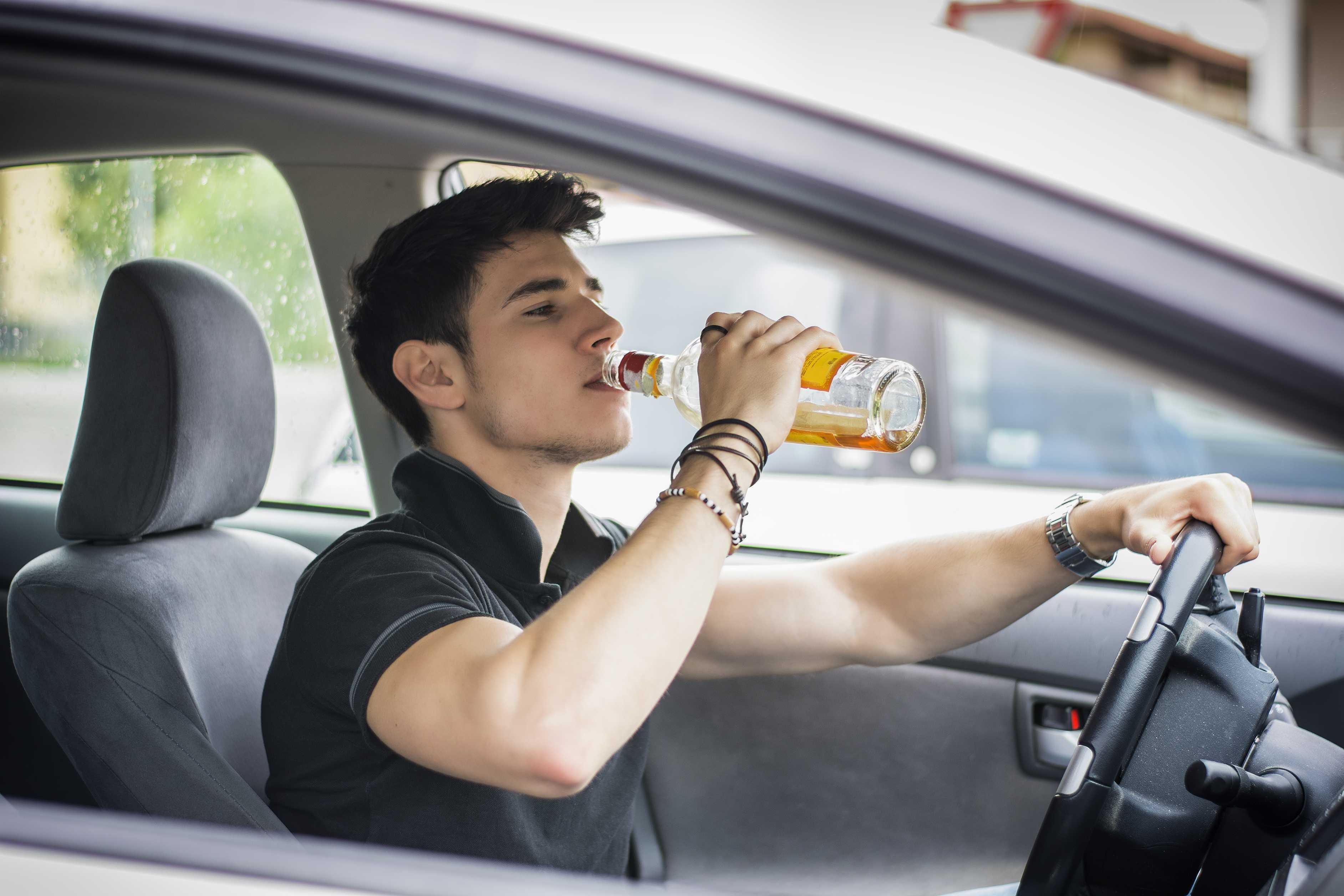 Traffic Drunk Teen 115