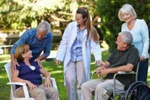 Seniors Living in a Retirement Community