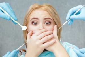 Getting dental care for yellowing teeth