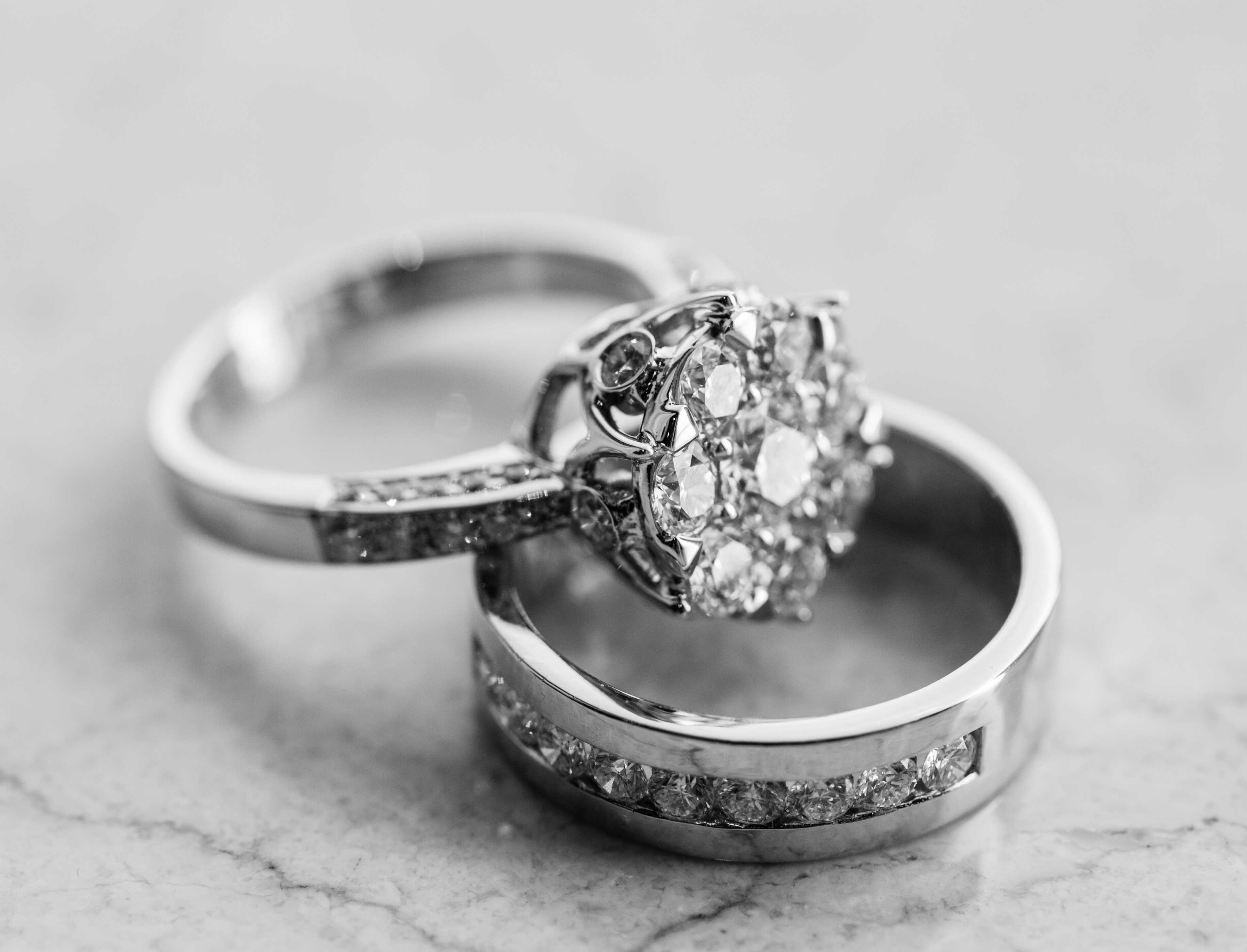 Lovely Wedding Rings With a Long Lasting Charm