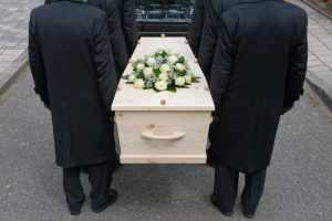 Funeral in Progress