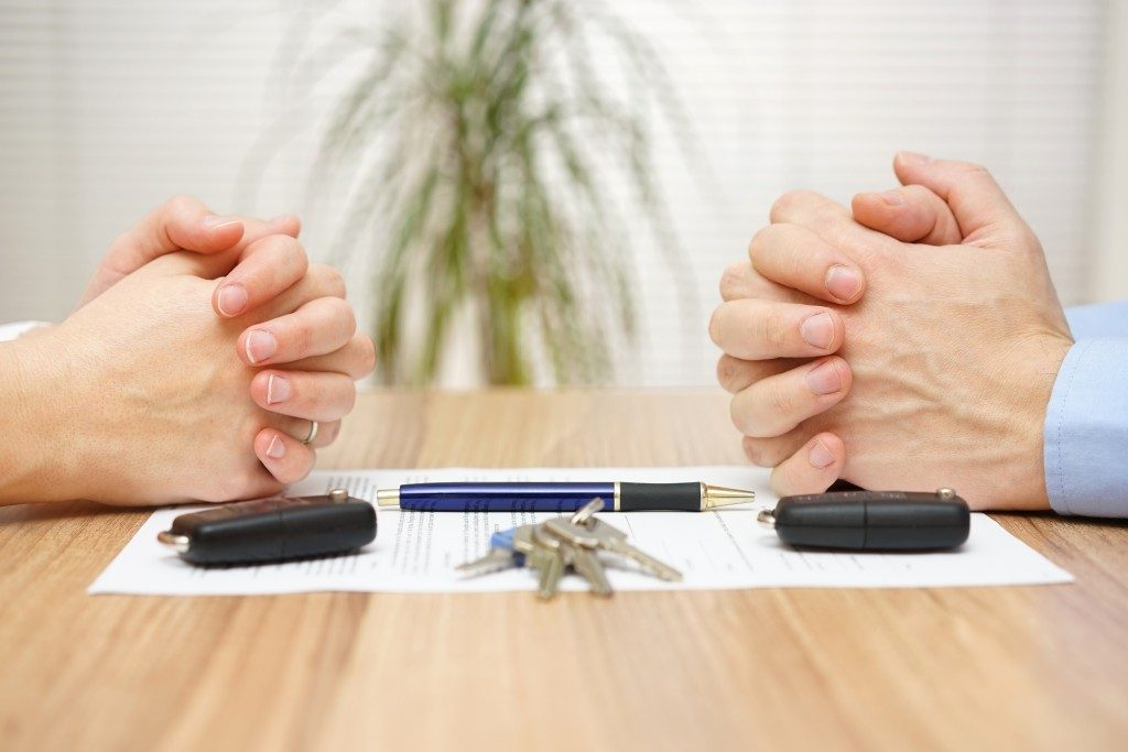 Divorce agreement process