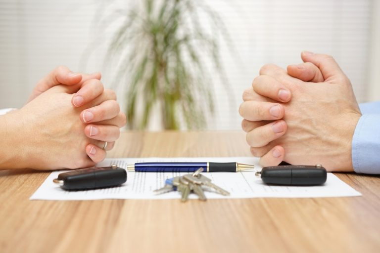 Divorce agreement process