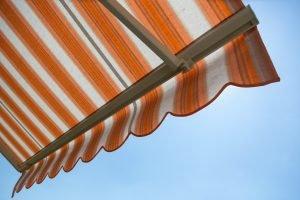 Fabric awning