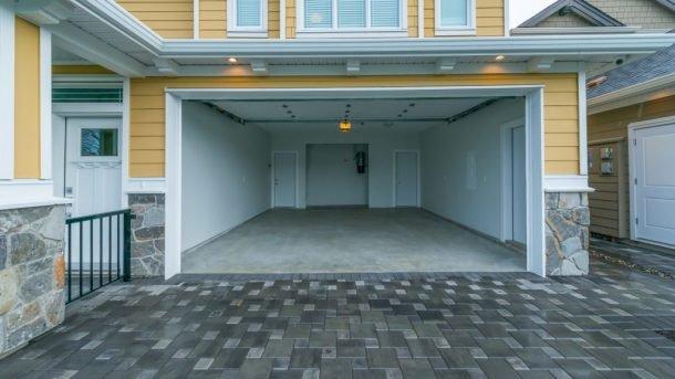 Open garage