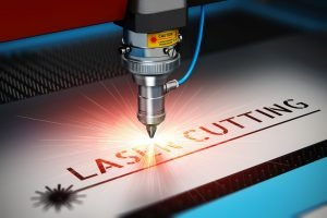 Laser cutting 3D picture