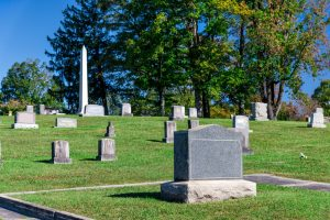 cemetery and graves