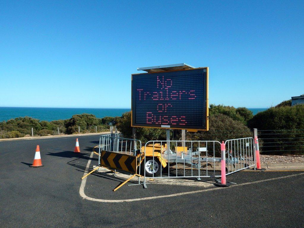 Digital road signage