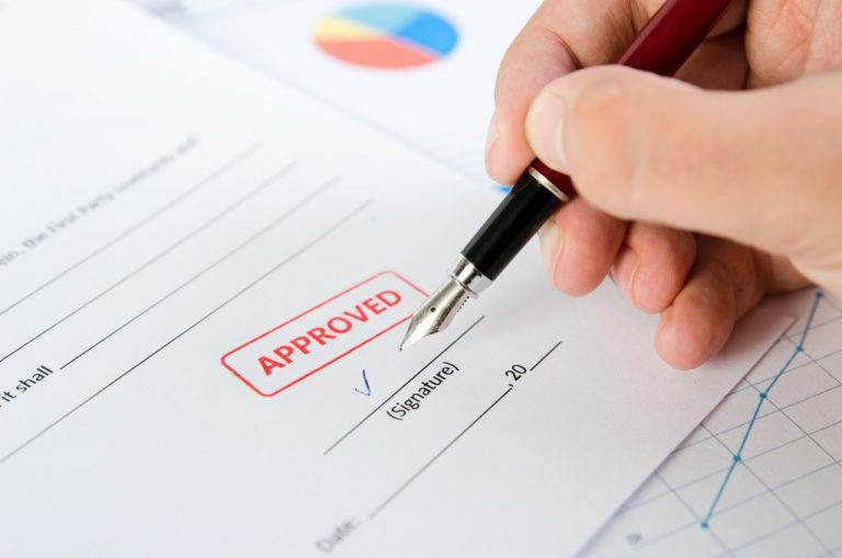 person signing an approved form