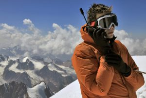 using satellite phone