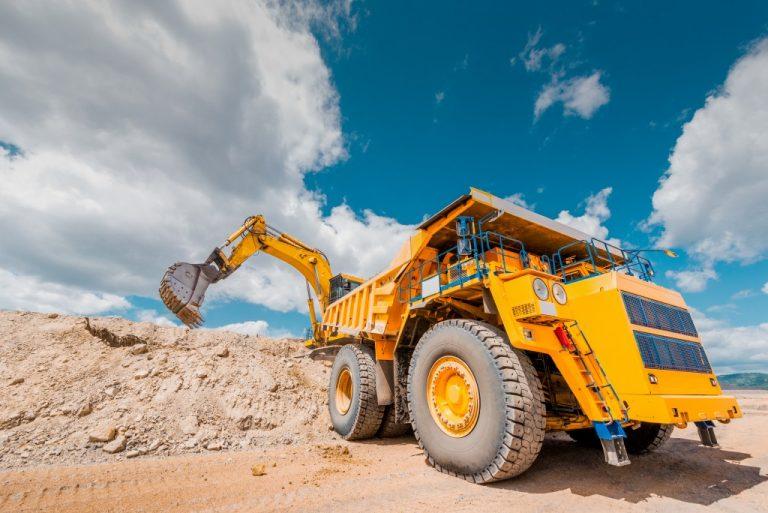 heavy machinery equipment excavator