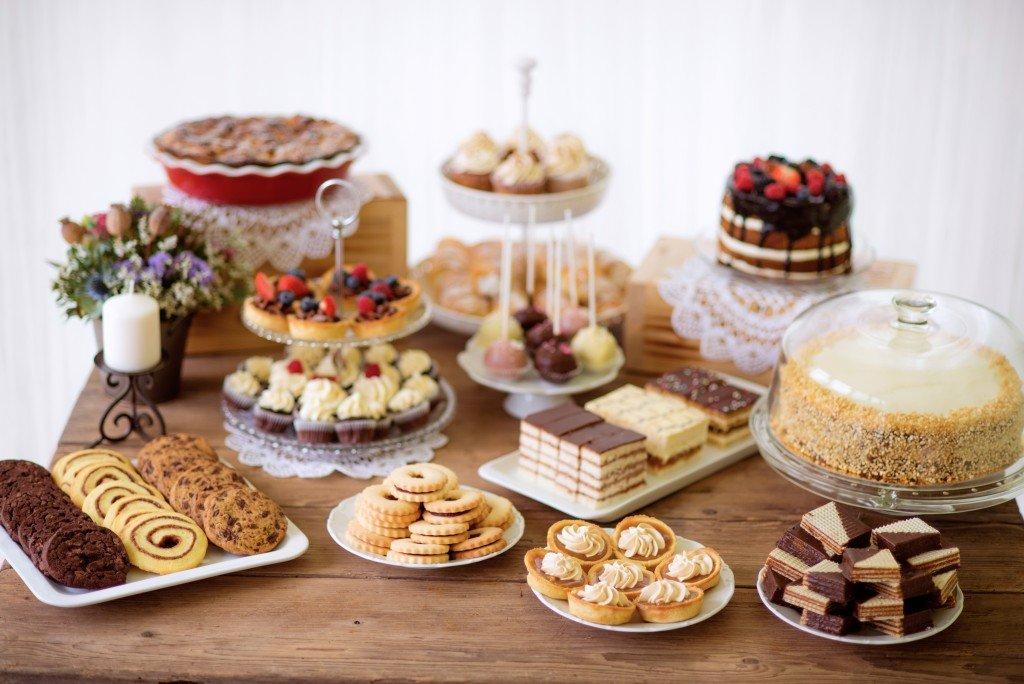 Dessert in buffet