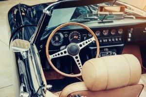 restored old car