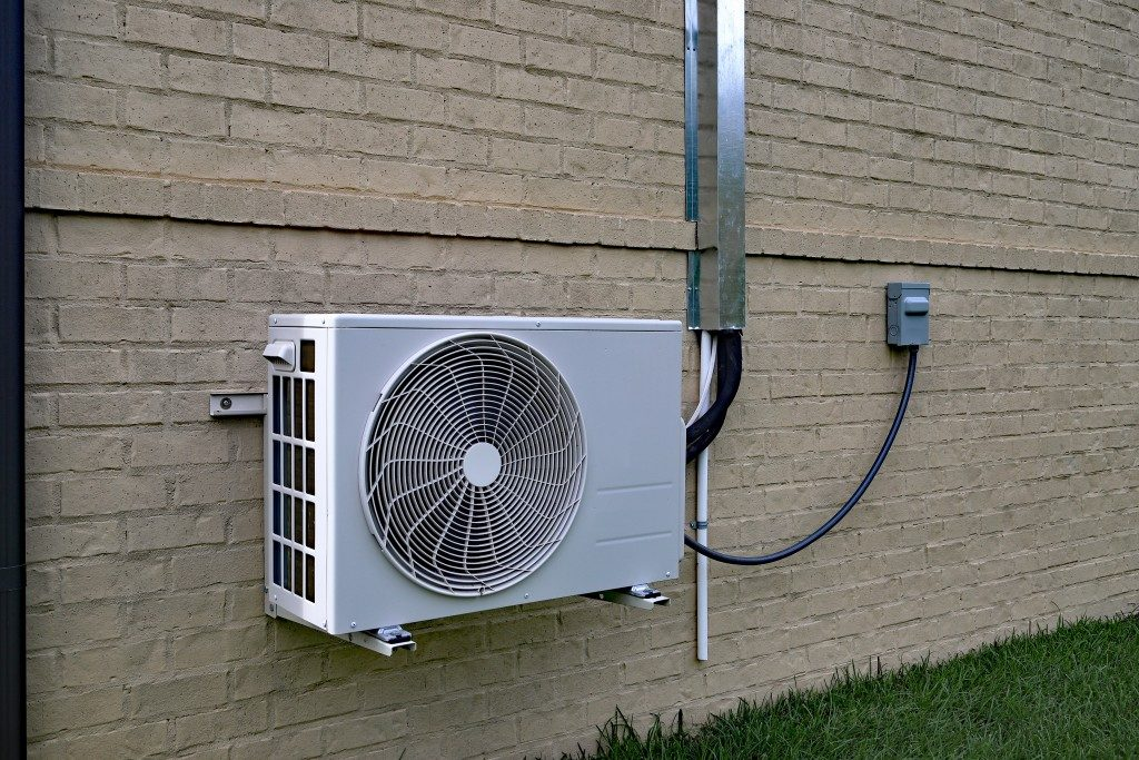 HVAC system at home
