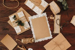 craft materials for invitation