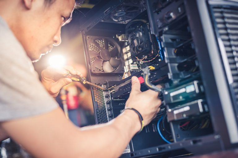 repairing computer