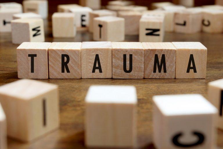 trauma letter blocks