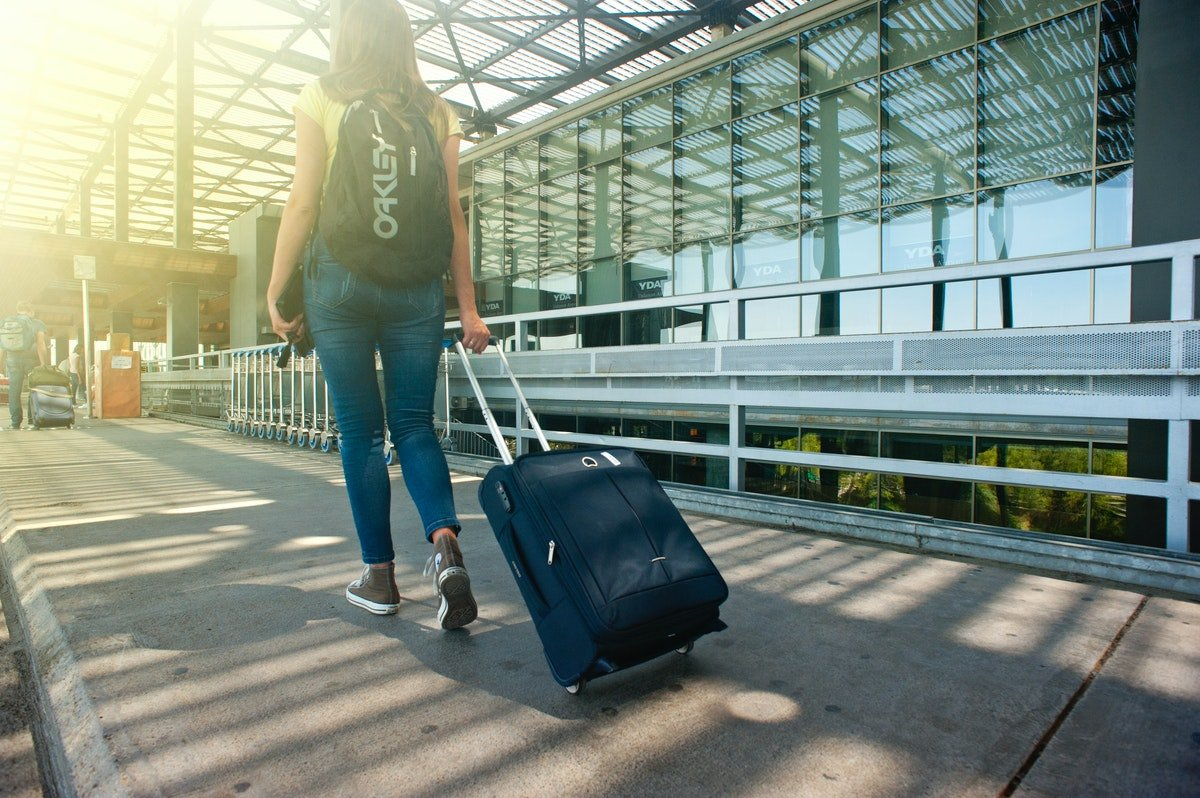 woman travelling