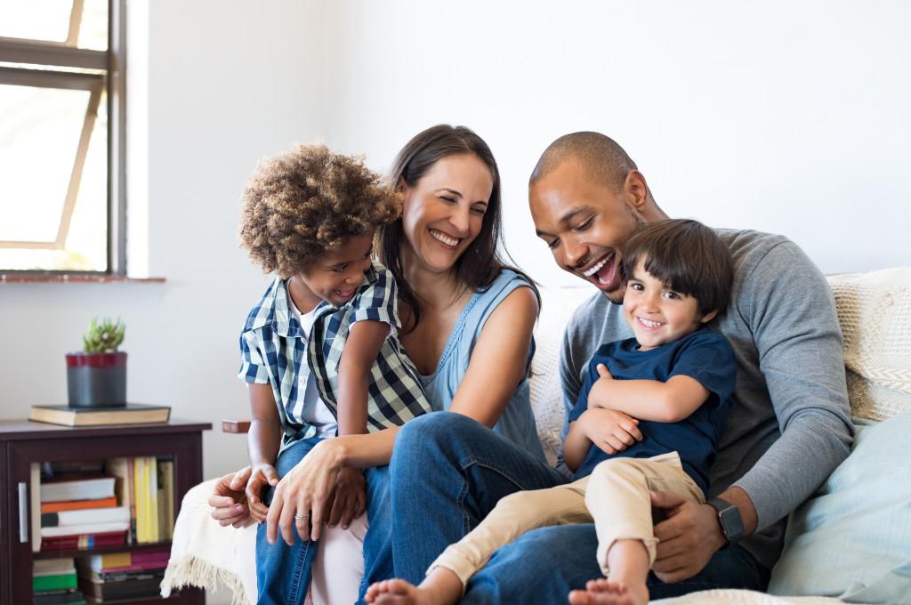 happy family concept
