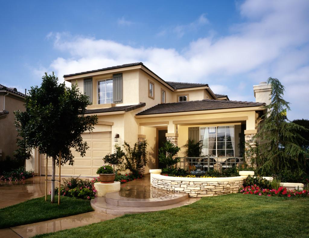 Home Exterior of House